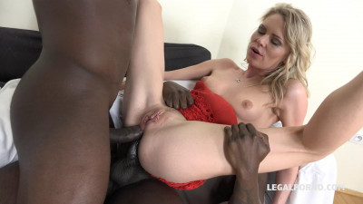 Claudia Mac Take Two Big Black Cocks