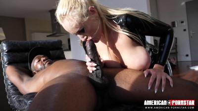Big tit milf angel in black latex get drilled by bbc