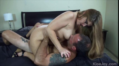 big tit mature housewife in glasses fucked hard at house