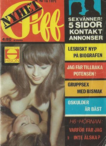 Piff Magazine 1971 vol 16,27,35
