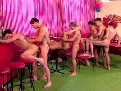 Hungary Gangbang With DP Fuck