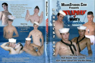 Bareback Weapons Of Matts Seduction — Matt Woods, Sean Cassidy, Ben Steele