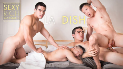 Peter F - Axel Kane & Jessie Lee - Sexy Rich Gaysians - L.A. Dish