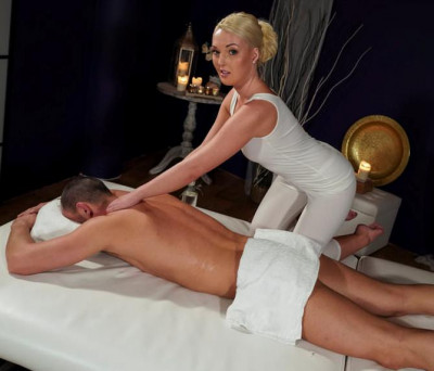 Description Lovita Fate - Oiled firm young blonde masseuse FullHD 1080p