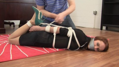 Madalynn Raye : Missed  Equals Tight Hogtie