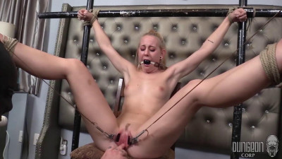 Dungeon Corp – Aubrey Marie – Aubrey's First Bondage part 4