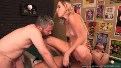CumEatingCuckolds Hollie Mack Pool Bet