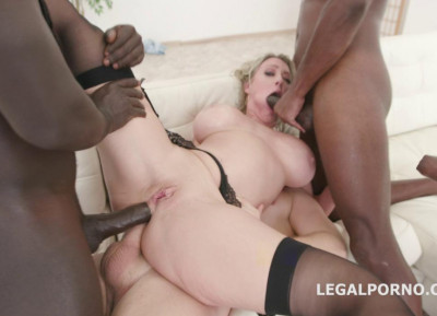 Dee Williams Gets Monster Double Anal Orgy With TP & Tap