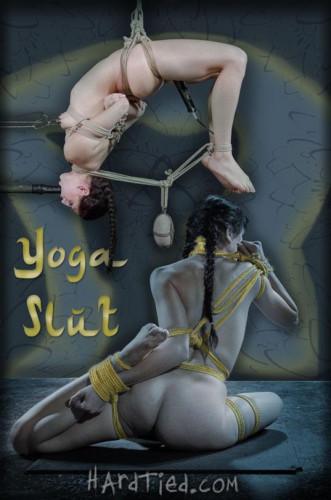 HardTied Nikki Knightly Yoga Slut ion - bondage, vid, online, waiting