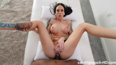 Casting Couch HD - Sabrina Tall Girl Cannot Wait For BBC