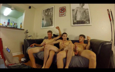 ThreeWay Damien Kyle Peter Pounder & Paul Canon OF