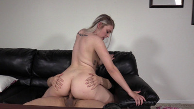 Backroom Anal Casting For Curvy Teen Dakota