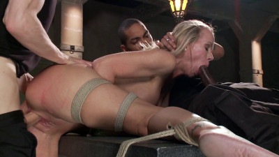 MILF Whore Stuffed With 2 Huge Cocks – Only Pain HD