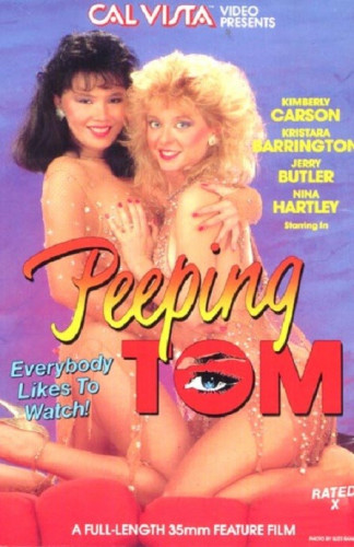 Description Peeping Tom(1986)- Kimberly Carson,Kristara Barrington,Nina Hartley