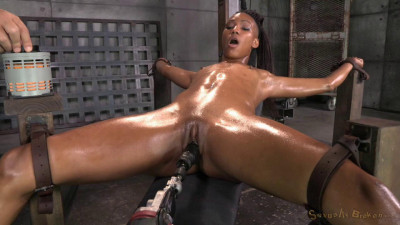 SexuallyBroken – Aug 27, 2014 – Sexy Nikki Darling Squirts Her Brains Out On A Fucking Machine
