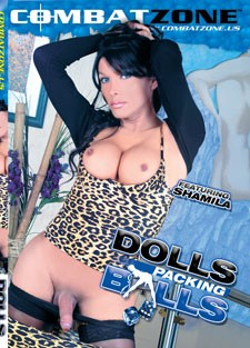 (Combat Zone) Dolls Packing Balls Scene 3