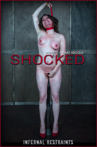 bdsm bondage (InfernalRestraints Amy Nicole Shocked).