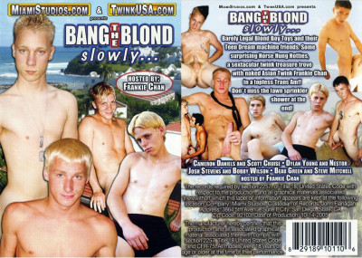 Description Bang the blond slowly