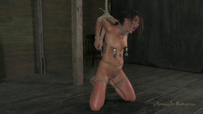 Midwest girl is skull fucked-rough bdsm porn