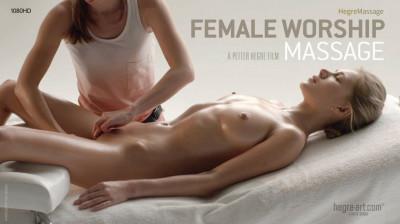 Description Darina L - Female Worship Massage