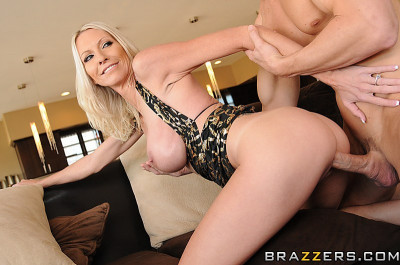Blonde Milf Has To Plan His Party