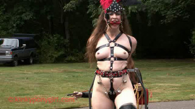 Kinky Pony Girl and Bondage part 1