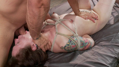 Tattooed Slut Gets Fucked Down – Only Pain HD