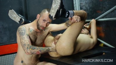HardKinks — Slave's First Fisting — Angel Garcia & David Luca