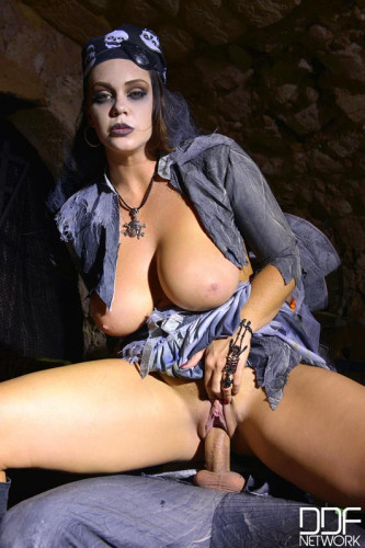 Alison Tyler - Busty Pirate Enjoys Zombie Cock (2016)