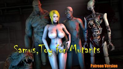 Description Samus Toy for Mutants.