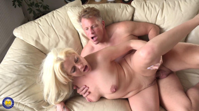 big tit blonde milf having fun with her toyboy full hd