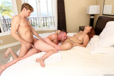 Edyn Blair, Owen Michaels and Damien Thorne