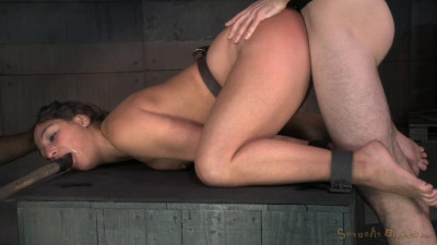 Sexy Starlet Abella Danger Shackled Roughly Fucked Brutal Drooling Deepthroat (2015)