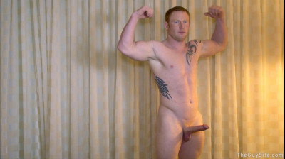 The Guy Site - Red Hair, Blue Eyes and Big Dick