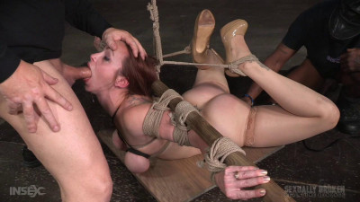 Busty Bella Rossi Deepthroat, Tited Tits Strict Challenging Bondage (2016)