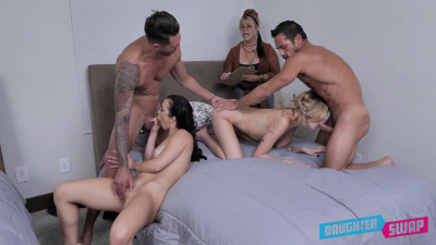 Hot Daughter Swapping Fuck Compilation FullHD 1080p