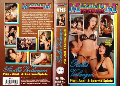Maximum Perversum Pralles Verlangen (1992) - Anja Fischer, Armin Beck