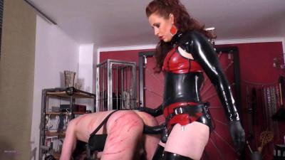 Mistress Lady Renee - Bench Fucked Bitch