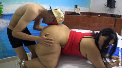 huge booty milf in red fucked hard 720p