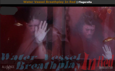 Sensualpain Water Vessel Breathplay In Red