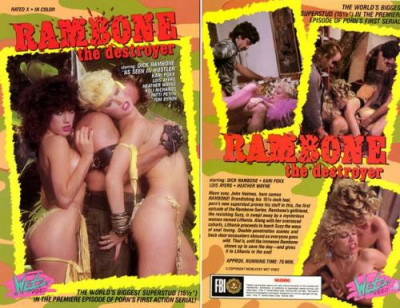 Description Rambone The Destroyer (1985) - Kari Foxx, Rachel Ryan, Keli Richards