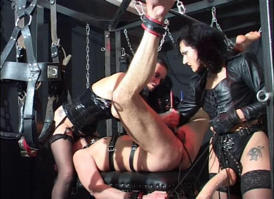 Best German Femdom With Strap Fuck & Fisting