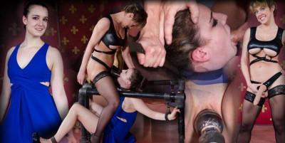 Sexy Girl Next Door Is Brutally Throat Fucked