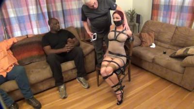 Sarah Bondage Challenge Pt 2 - The Chair Sprint