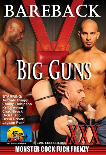 Bareback Big Guns (Monster Cock Fuck Frenzy) - Antonio Biaggi, Chad Brock, Jayson Park