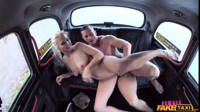 Lady driver sucks and fucks cock