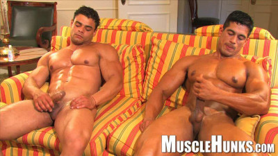 Muscle Hunks Collection part 1