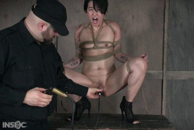 Amazing mistress in hard bdsm