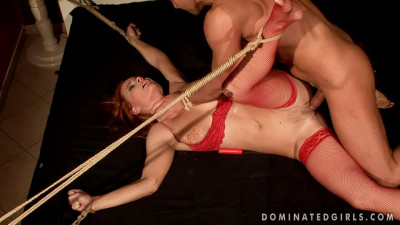 Description Katy Parker begs for help Katy Parker - Extreme, Bondage, Caning
