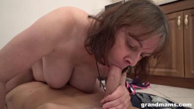 Bossy Granny Enjoys